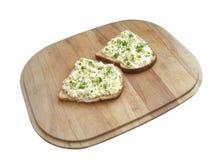 De mayonaisesandwich van het ei Stock Fotografie