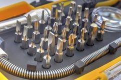 De mechanische reeks van het beetjehulpmiddel Stock Fotografie