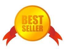 De medaille van de best-seller royalty-vrije illustratie