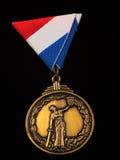 De medaille van de oorlog Stock Foto's