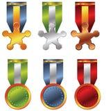 De medaille van de toekenning Stock Foto's