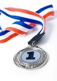 De medaille van nr 1 Royalty-vrije Stock Foto's