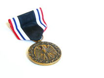 De medaille van Pow Royalty-vrije Stock Afbeeldingen