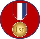 De Medaille van sporten vector illustratie