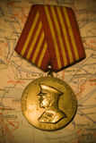 De medaille van Zhukov Royalty-vrije Stock Afbeelding