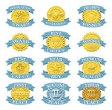 De medailles of de kentekens van de toekenning Royalty-vrije Stock Foto