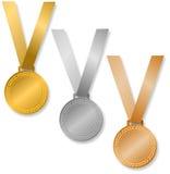 De Medailles van de toekenning/eps Stock Foto's