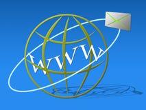 De mededeling van het Web Stock Foto's