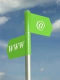 De mededeling van Internet Stock Foto's