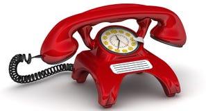 De mededelingen van de tarieftelefoon Concept royalty-vrije illustratie