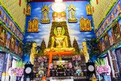 De medelevende tempel Buakway van Boedha Royalty-vrije Stock Afbeeldingen