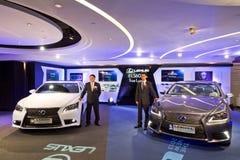 De Media van Lexus LS Gebeurtenis Stock Fotografie