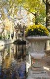 De Medici-fontein, de tuin van Luxemburg, Parijs, Frankrijk royalty-vrije stock foto