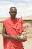 De medicijnman van Masai Stock Afbeelding