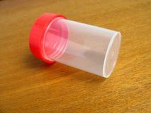 Urine medische container royalty-vrije stock afbeeldingen