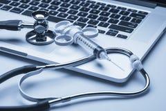 De medische hulpmiddelen van de arts Stock Afbeeldingen