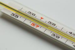 De medische thermometer van het kwik royalty-vrije stock foto