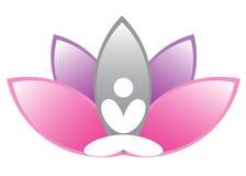 De meditatie van Lotus Royalty-vrije Stock Foto