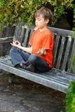 De Meditatie van Zen stock afbeelding