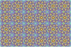 De meditatiemandala van de kleur vector illustratie
