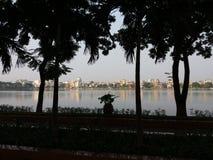 De meerstad van Hai Duong Vietnam Stock Foto's
