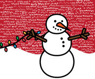 De meertalige Scène van Kerstmis stock illustratie