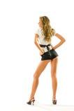 De meest seksuele en lange benen. Stock Afbeelding