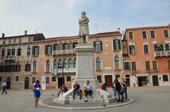 De meeste het bezoeken plaats in Venetië!! Stock Foto