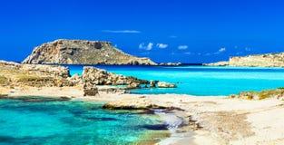De meeste mooie stranden van Griekenland royalty-vrije stock fotografie