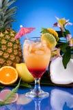 De meeste populaire cocktailsreeks - MAI Tai Royalty-vrije Stock Afbeeldingen