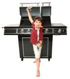 De Meester van de grill Royalty-vrije Stock Afbeelding