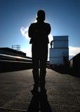 De Meester van de stoom Stock Foto