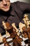 De meester van het schaak royalty-vrije stock afbeelding
