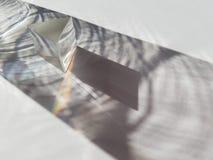 De meetkunde van de Minimalisticpiramide stock afbeelding