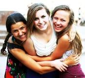 Studentenmeisjes Stock Foto