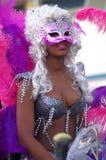 De parade van Carnaval - Quarteira Stock Afbeeldingen