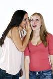 De meisjes roddelen Stock Fotografie