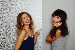De Meisjes van de glamour Stock Afbeelding