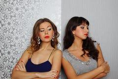 De Meisjes van de glamour Stock Afbeeldingen