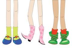 De meisjes van de manier vector illustratie