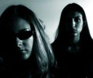 De meisjes van de matrijs Stock Fotografie