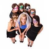 De Meisjes van de partij Stock Foto's