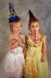 De Meisjes van de partij Royalty-vrije Stock Foto's