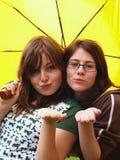 De meisjes van de tiener Stock Fotografie