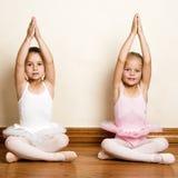 De Meisjes van het ballet Stock Afbeeldingen