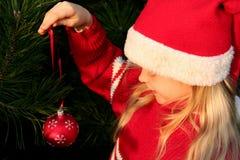De meisjes van Kerstmis Royalty-vrije Stock Afbeeldingen