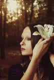 De melancholie van de herfst Stock Afbeeldingen