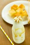 De melk van de ijskaramel Stock Foto