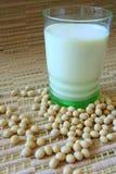 De melk van de soja Stock Fotografie