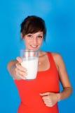 De melk van de vrouw Royalty-vrije Stock Afbeelding